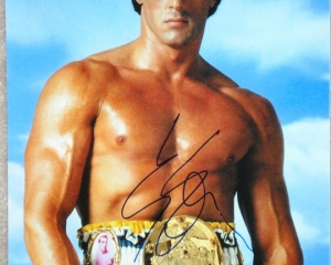 Rocky with Title and Signature