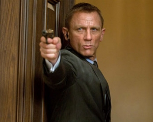 Daniel Craig is James Bond in Skyfall