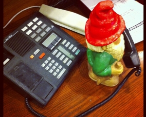 Poe the Gnome Prank Calling