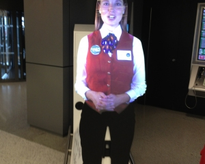 Automated greeter at LearnVest Live!