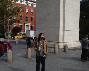 Our son Jon in NYC.