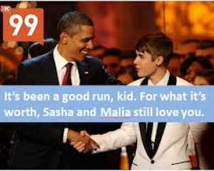 The Klout race: Obama & Bieber