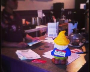 #PoeTheGnome signing in at the SMB at LOFO