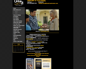 Previous Century 21 Tucci Realty Website