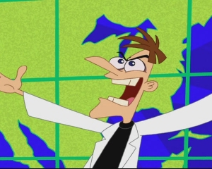 Dr. Doofenshmirtz from Phineas and Ferb