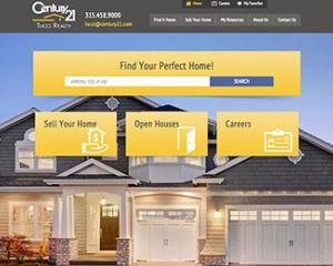 Century 21 Tucci Realty Cowley Web Design Syracuse NY