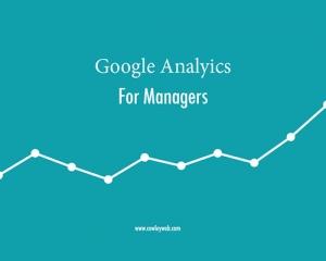 Google Analytics for Managers Cowley Associates Syracuse, NY