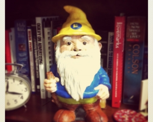 Poe the Blog Gnome