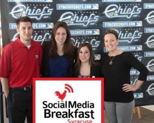 Social Media Breakfast Sports Presenters