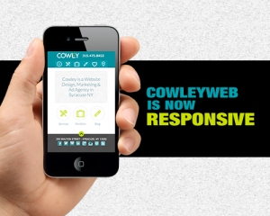 Cowley's Website Is Now Using Responsive Design